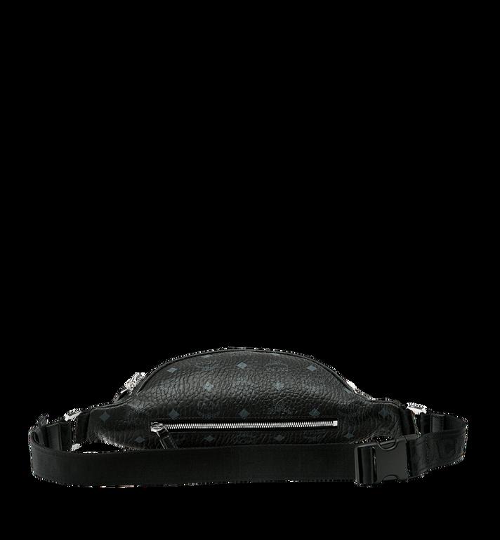 MCM Sac porté à la taille Fursten en Visetos Black MUZ9SFI27BK001 Alternate View 4