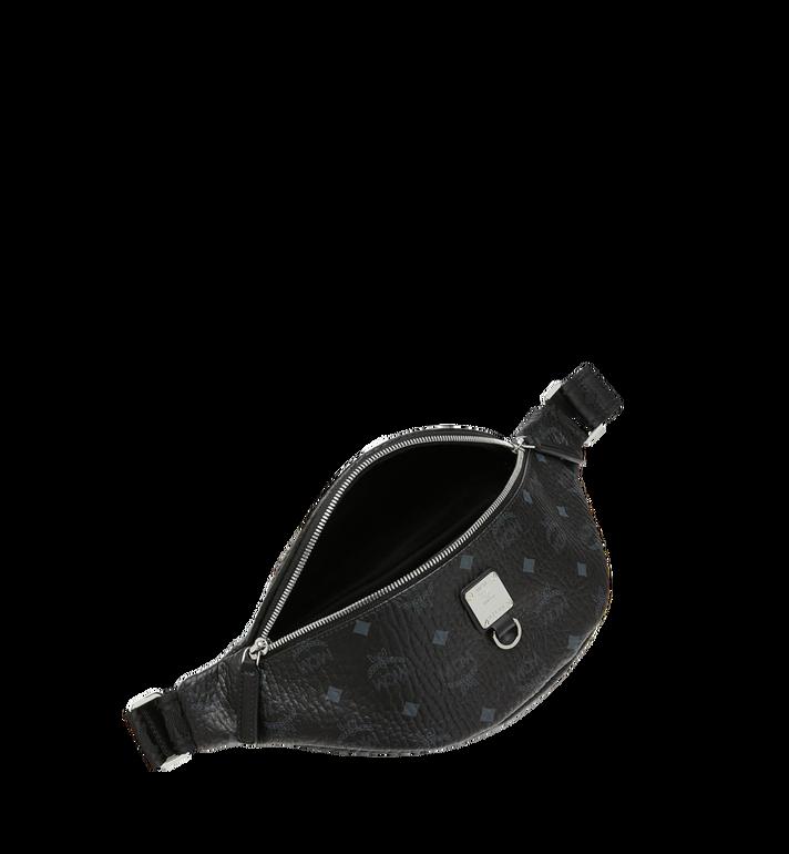 MCM Sac porté à la taille Fursten en Visetos Black MUZ9SFI27BK001 Alternate View 5
