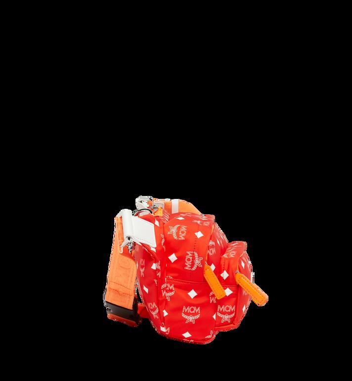 MCM Resnick Gürteltasche aus Nylon mit weissem Logo Alternate View 3