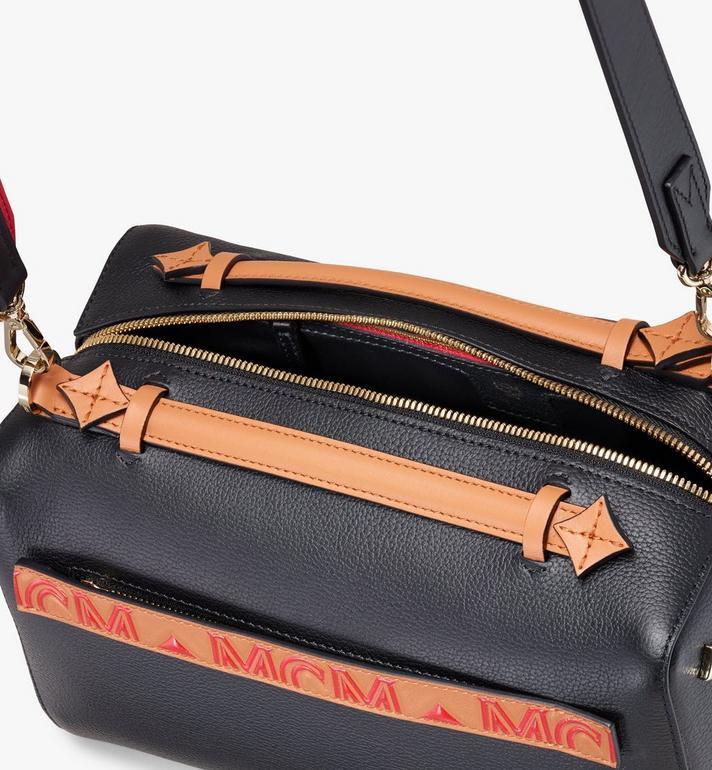 MCM Milano Boston Bag Black MWB9ADA51BK001 Alternate View 4