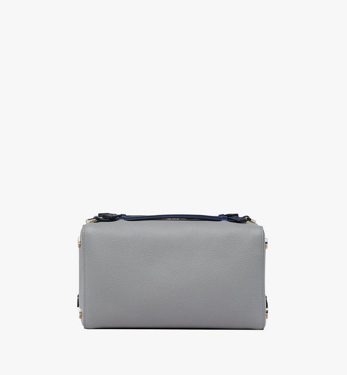 MCM Milano Boston Bag Grey MWB9ADA51EZ001 Alternate View 3