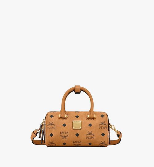 Essential Boston Bag in Visetos