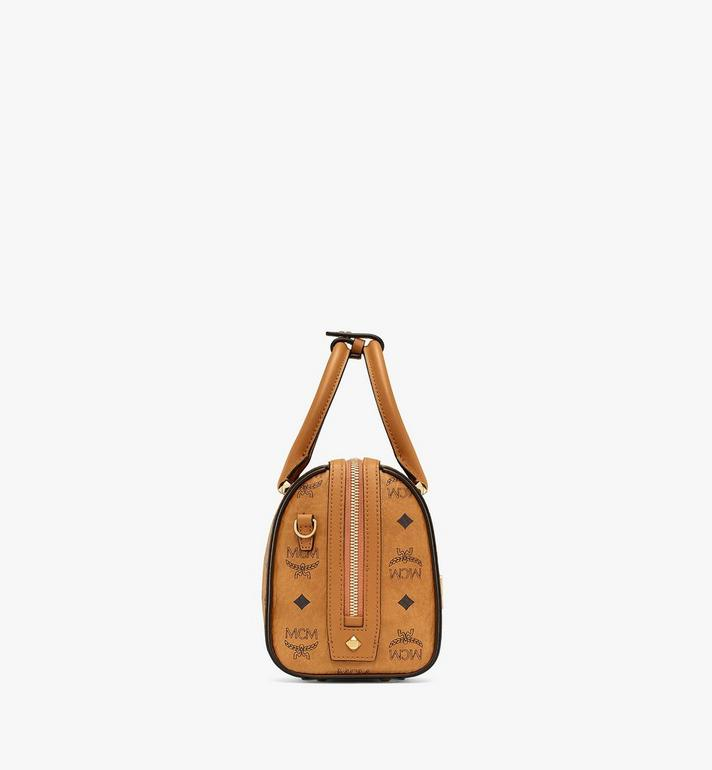 MCM Essential Boston in Visetos Cognac MWB9SSE67CO001 Alternate View 2