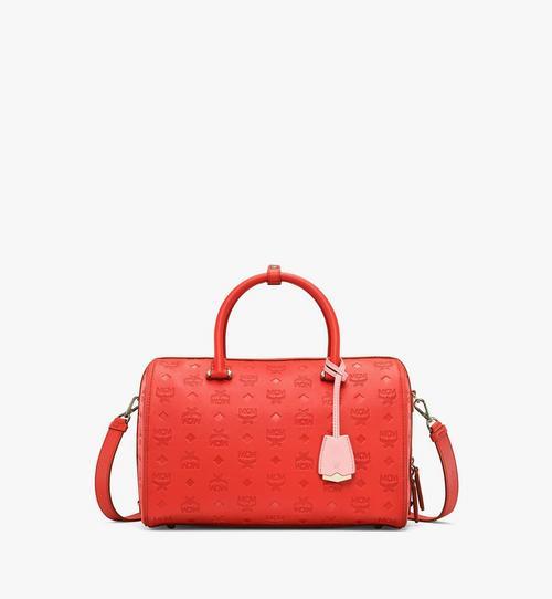 กระเป๋าบอสตัน Essential ทำจากหนังลายโมโนแกรม