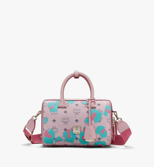 Essential Boston Bag in Floral Leopard