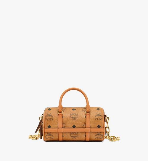 Delmy Boston Bag in Visetos
