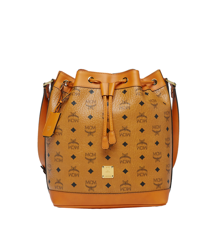 MCM Sac seau Heritage Drawstring en Visetos Alternate View