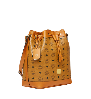 MCM Heritage Kordelzugtasche in Visetos Cognac MWD6AVI33CO001 Alternate View 2