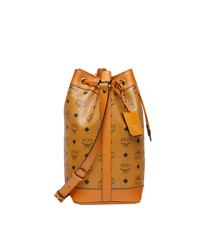 MCM Sac seau Heritage Drawstring en Visetos Alternate View 3