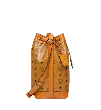 MCM Heritage Kordelzugtasche in Visetos Cognac MWD6AVI33CO001 Alternate View 3