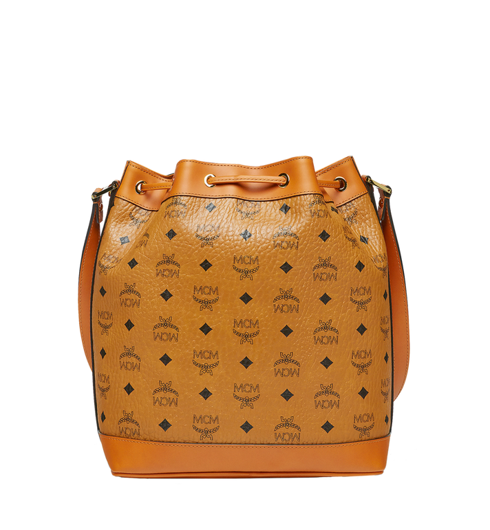 MCM Sac seau Heritage Drawstring en Visetos Alternate View 4