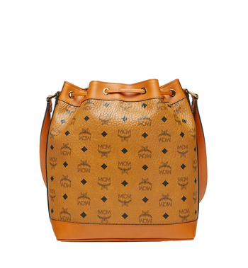 MCM Heritage Kordelzugtasche in Visetos Cognac MWD6AVI33CO001 Alternate View 4