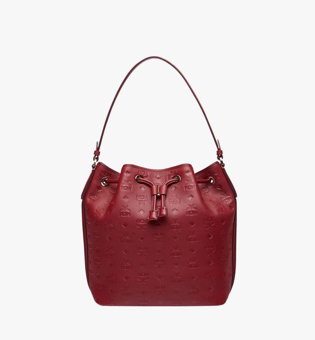Essential Drawstring in Monogram Leather