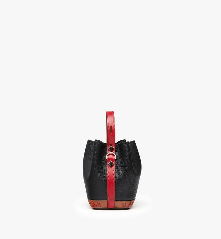 MCM Milano Mini Drawstring Bag Black MWD9ADA42BK001 Alternate View 2