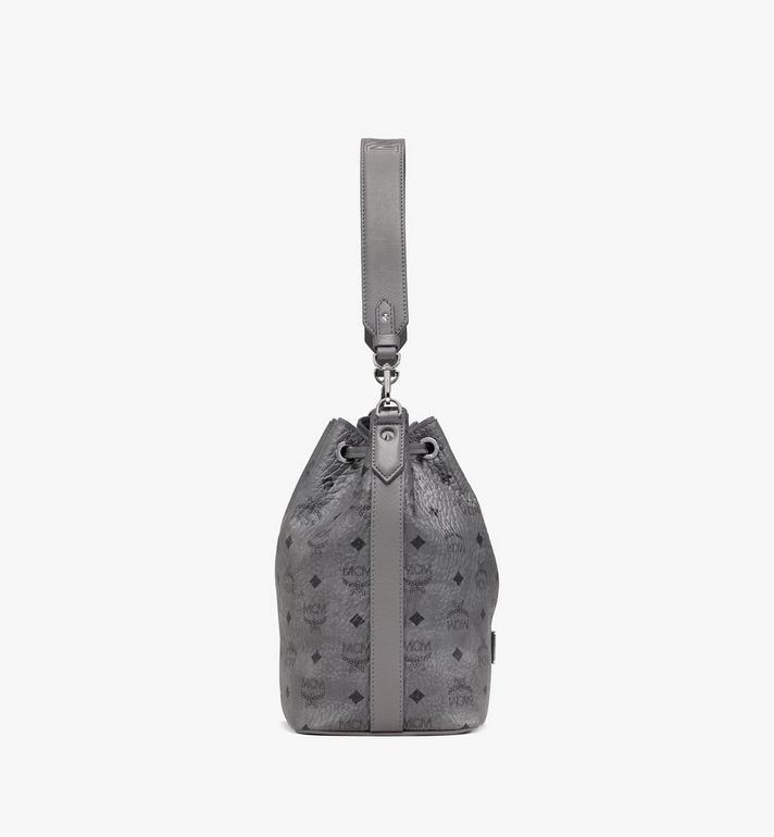 MCM Essential Drawstring Bag in Visetos  MWD9ASE71EP001 Alternate View 2