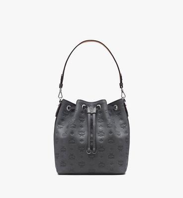 Essential Drawstring in Monogram Leather
