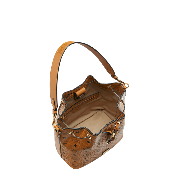 MCM Essential Drawstring in Visetos Cognac MWD9SSE71CO001 Alternate View 5