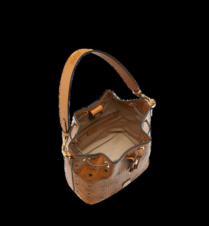 MCM Essential Kordelzug-Tasche in Visetos Cognac MWD9SSE71CO001 Alternate View 5