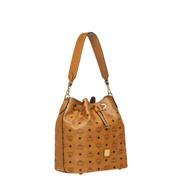 MCM Essential Drawstring in Visetos Original Alternate View 2