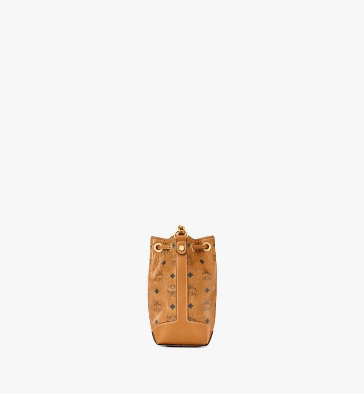 MCM Soft Berlin Drawstring Bag in Visetos Cognac MWDAABF03CO001 Alternate View 2