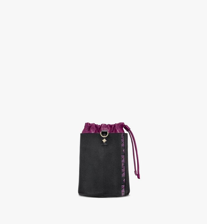 MCM Milano Drawstring Bag in Color Block Goatskin Leather Purple MWDAADA02UZ001 Alternate View 2