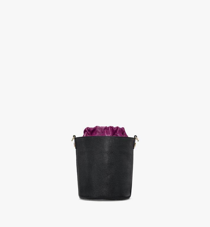 MCM Milano Drawstring Bag in Color Block Goatskin Leather Purple MWDAADA02UZ001 Alternate View 4