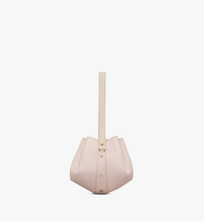 MCM Candy Drawstring Bag in Nappa Leather Beige MWDASCY03IH001 Alternate View 2