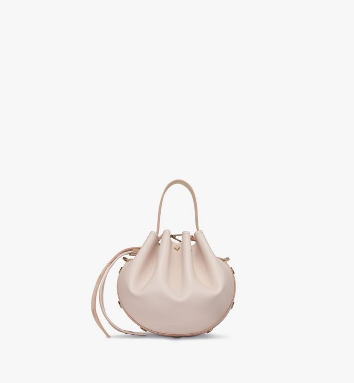 MCM Candy Drawstring Bag in Nappa Leather Beige MWDASCY03IH001 Alternate View 3