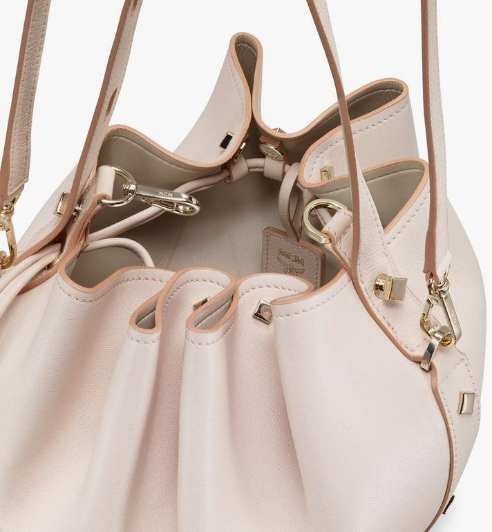 MCM Candy Drawstring Bag in Nappa Leather Beige MWDASCY03IH001 Alternate View 4