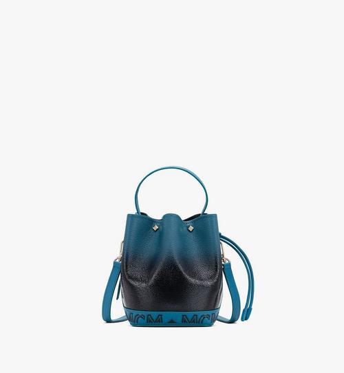 กระเป๋าหูรูด Milano ทำจากหนังแก้วแบบไล่สี