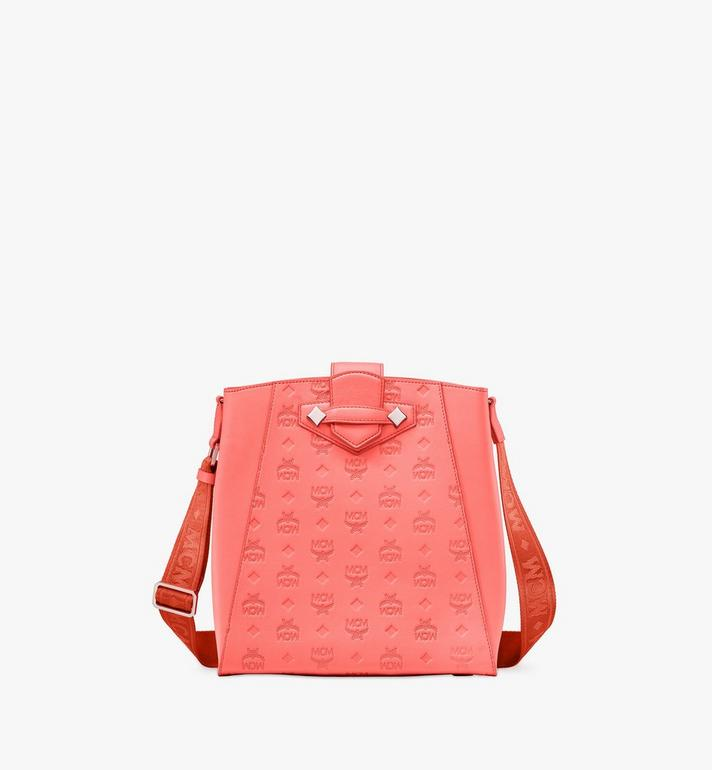 MCM Essential Bucket Bag in Monogram Leather Alternate View
