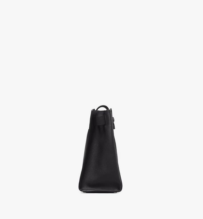 MCM Essential Bucket Bag in Visetos Original Black MWDASSE05BK001 Alternate View 2