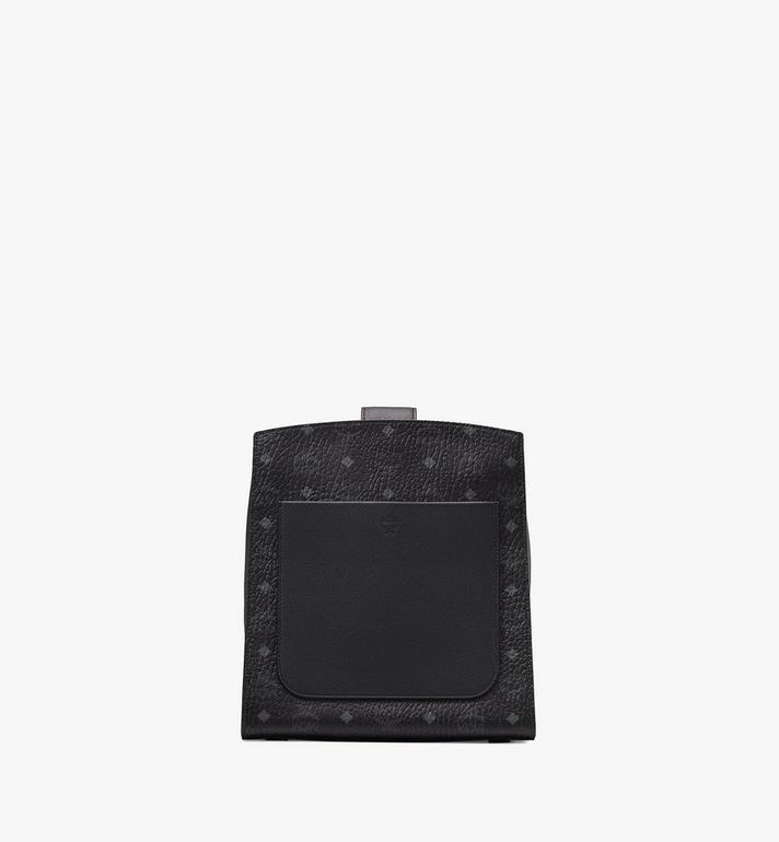 MCM Essential Bucket Bag in Visetos Original Black MWDASSE05BK001 Alternate View 3