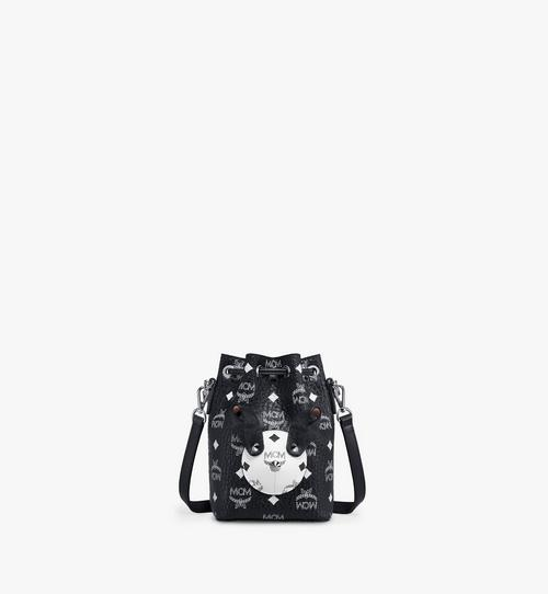 MCM Zoo Rabbit Bucket Bag in Visetos