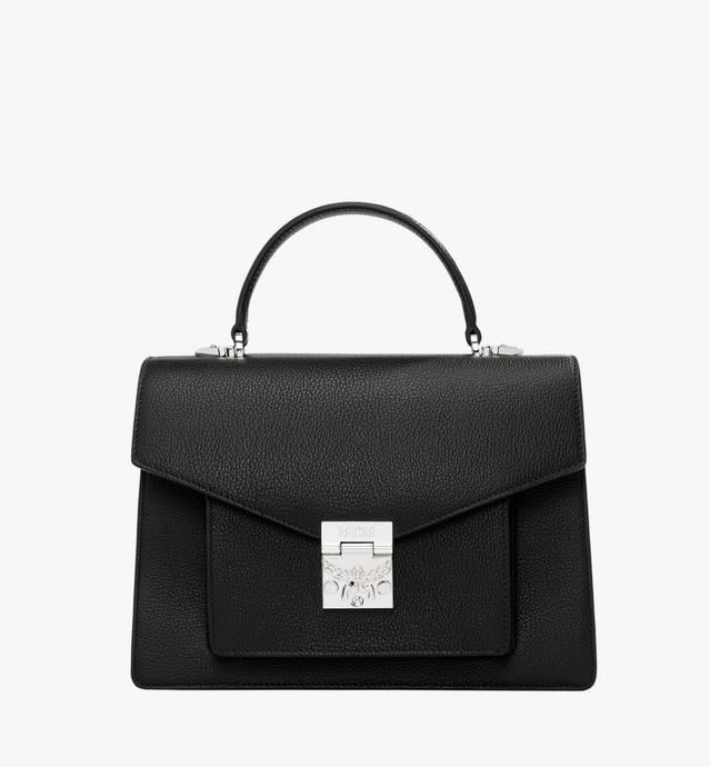 Patricia Pocket Satchel in Grained Leather