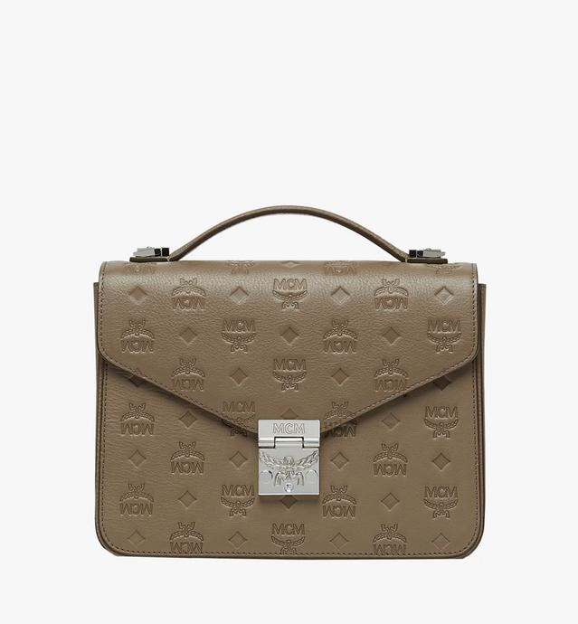 Patricia Satchel in Monogram Leather
