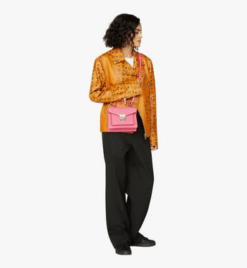 MCM Patricia Satchel aus genietetem Park Avenue Leder  MWE9APA51QS001 Alternate View 5
