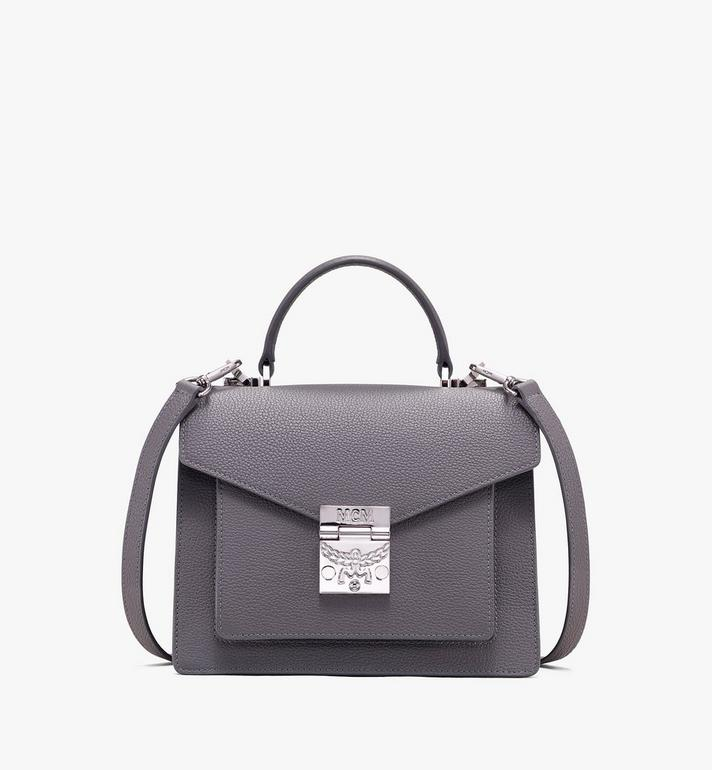 MCM Patricia Satchel in Park Avenue Leather Alternate View