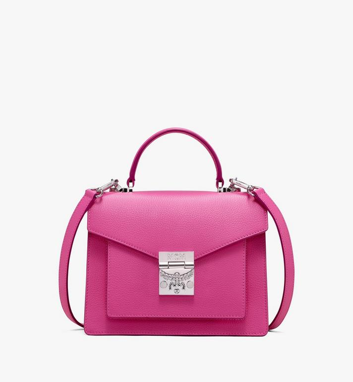 MCM Patricia Satchel aus Leder in Park Avenue Alternate View