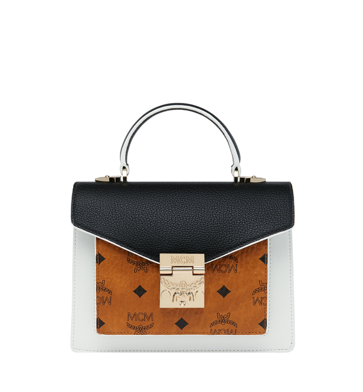 MCM Sacoche Patricia en Visetos Leather Block Alternate View