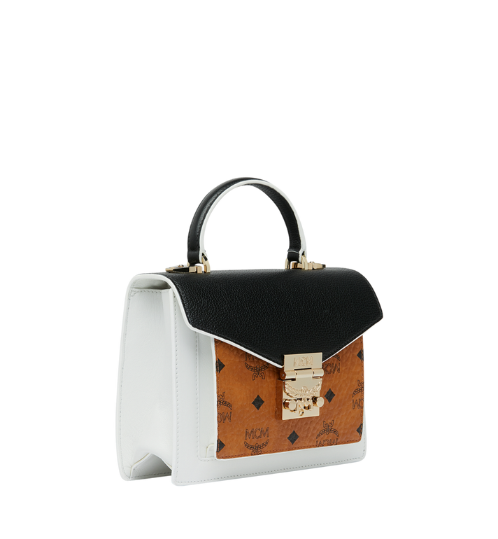 MCM Sacoche Patricia en Visetos Leather Block Alternate View 2