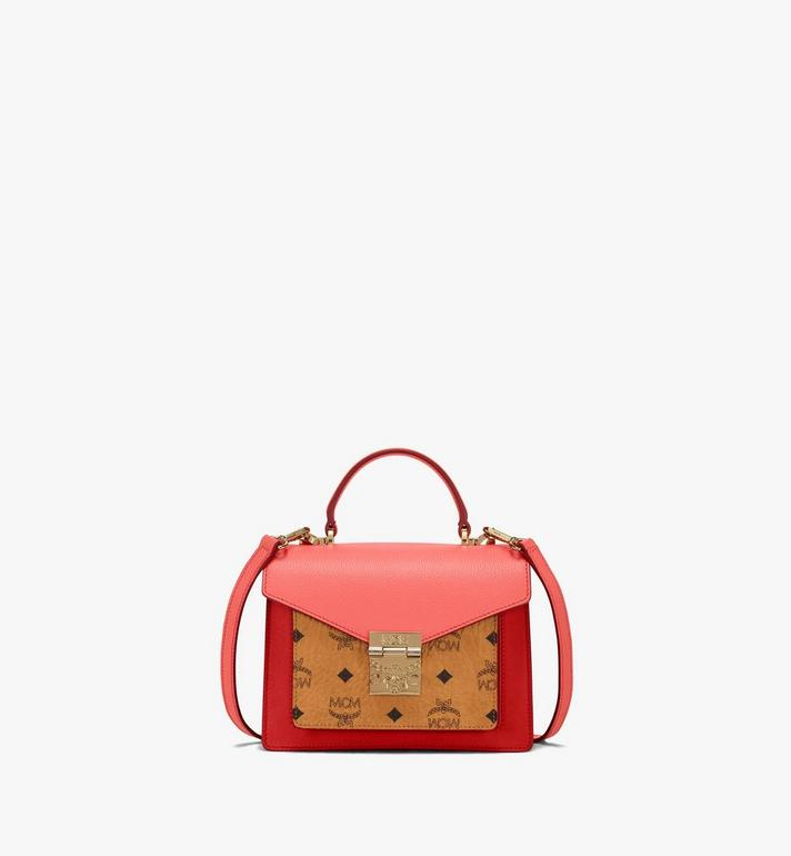 MCM Patricia Satchel in Color Block Visetos Alternate View