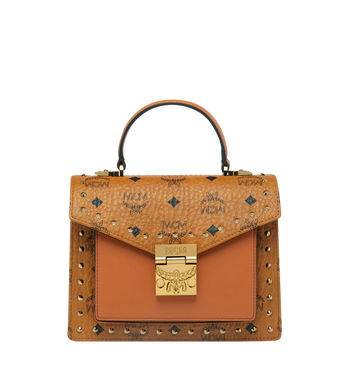 MCM Sacoche Patricia en Visetos Studded Outline Alternate View