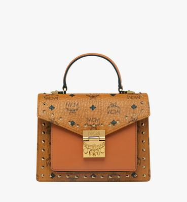 Patricia Satchel in Studded Outline Visetos