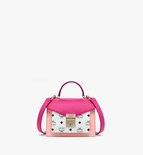กระเป๋าทรงนักเรียน Patricia ลาย Visetos สีคัลเลอร์บล็อก