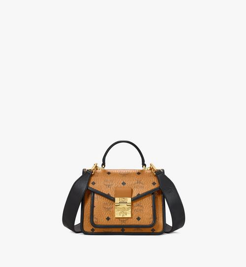 Patricia Satchel in Visetos Leather Block