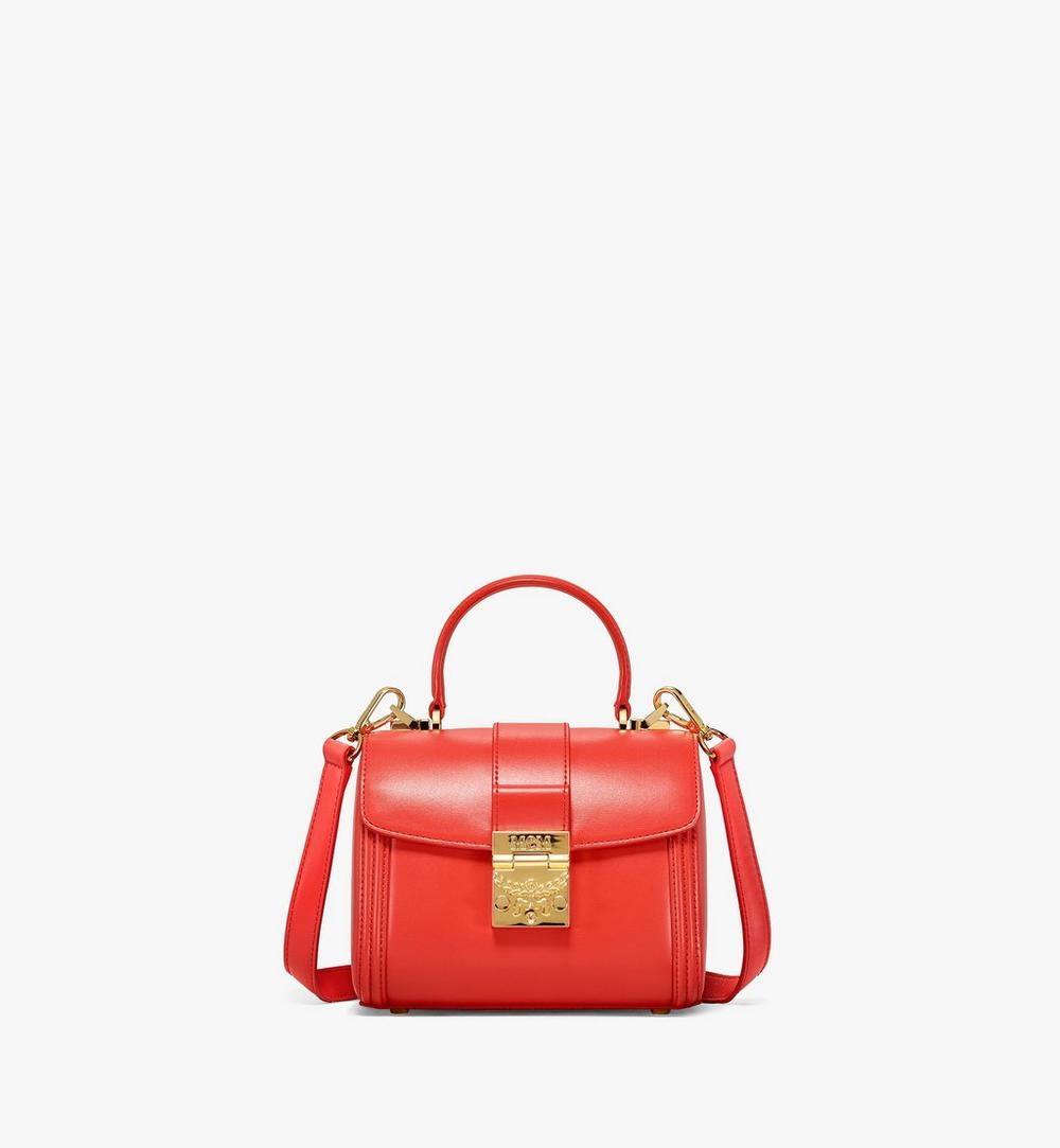 Tracy Satchel in Embossed Spanish Leather 1