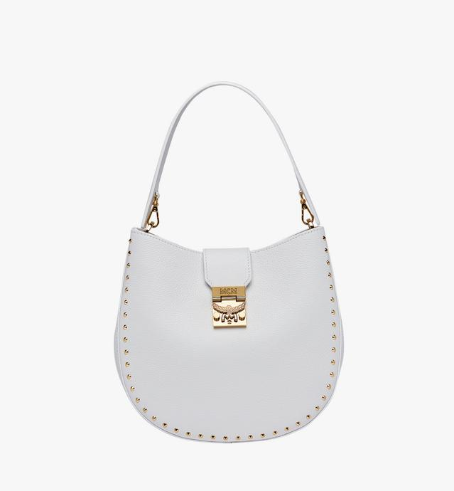 Patricia Studded Outline Hobo in Grained Leather