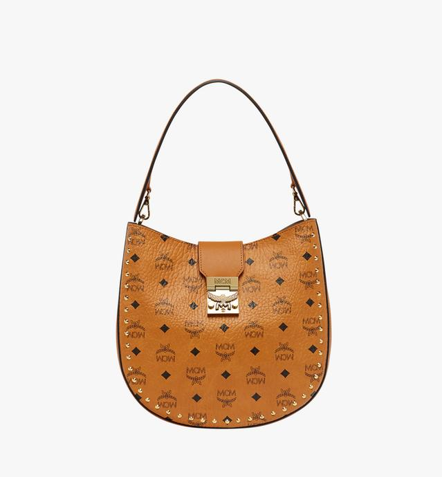 Patricia Studded Outline Hobo in Visetos