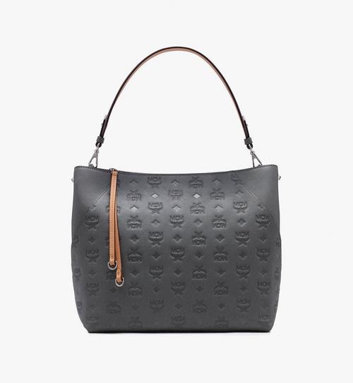 กระเป๋า Hobo Klara ทำจากหนังพิมพ์ลายโมโนแกรม